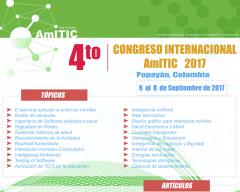 Afiche del Congreso AmITIC