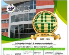 Programa de aniversario de la FISC