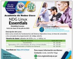 Curso de NDG Linux Essentials (Academia de Redes Cisco UTP - FISC)