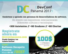 Afiche del Devconf Panama