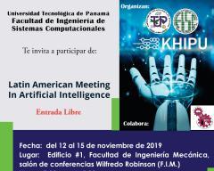 Latin American Meeting In Artificial Intelligence Khipu