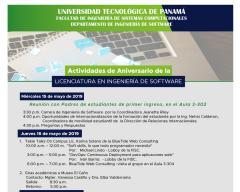 Semana de Aniversario de la Licenciatura en Ingeniería de Software