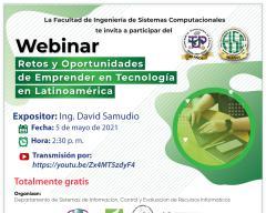 Webinar Retos y Oportunidades de Emprender en Tecnología en Latinoamérica