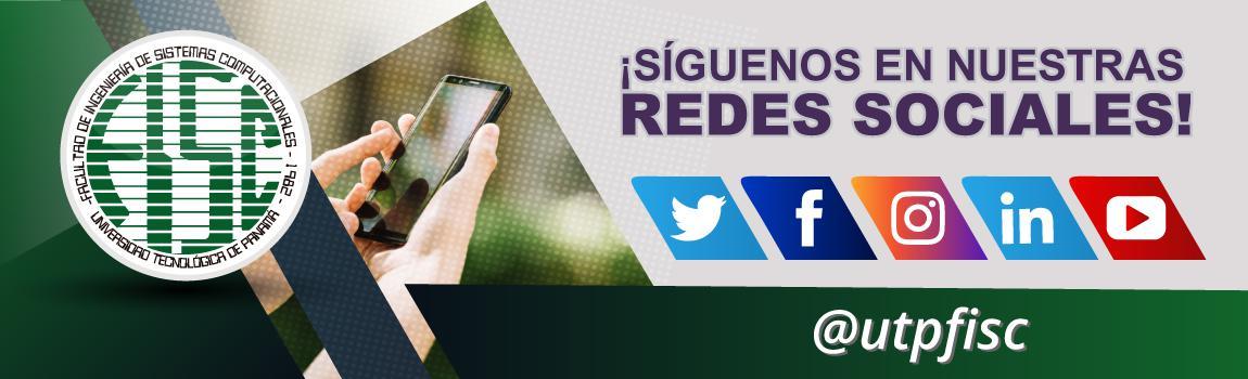 Redes Sociales de la Oficiales de la FISC
