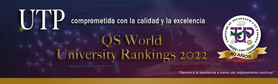 UTP mantiene su liderazgo en el QS World University Rankings.